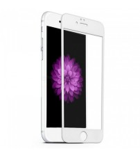 Folie sticla ANTIREFLEX tempered glass iPhone 6 Full 3D White
