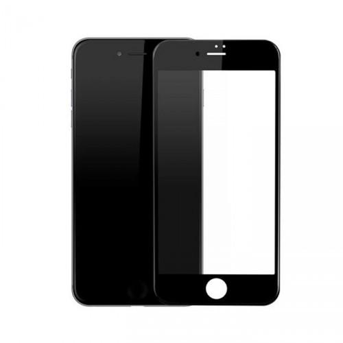 Folie sticla iPhone 7 antireflex 3D Black - TemperedGlass.ro