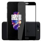 Folie sticla securizata OnePlus 5, FULL GLUE, Black