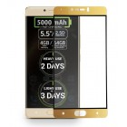 Folie sticla securizata tempered glass Allview P9 Energy, Gold