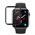 Folie sticla securizata tempered glass Apple Watch 4 44mm - Black