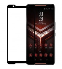 Folie sticla securizata tempered glass Asus ROG Phone, Full Black