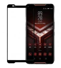 Folie sticla securizata tempered glass Asus ROG Phone, Full Black