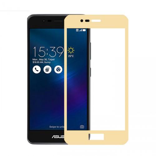 Folie sticla Asus Zenfone 3 Max ZC520TL, Gold - TemperedGlass.ro