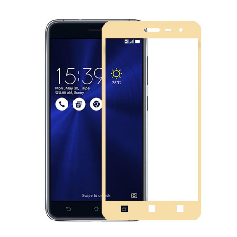 Folie sticla Asus Zenfone 3 ZE520KL Gold - TemperedGlass.ro