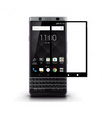 Folie sticla securizata tempered glass Blackberry KeyOne, Black