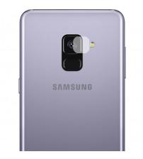 Folie sticla securizata tempered glass camera Samsung Galaxy A8 2018