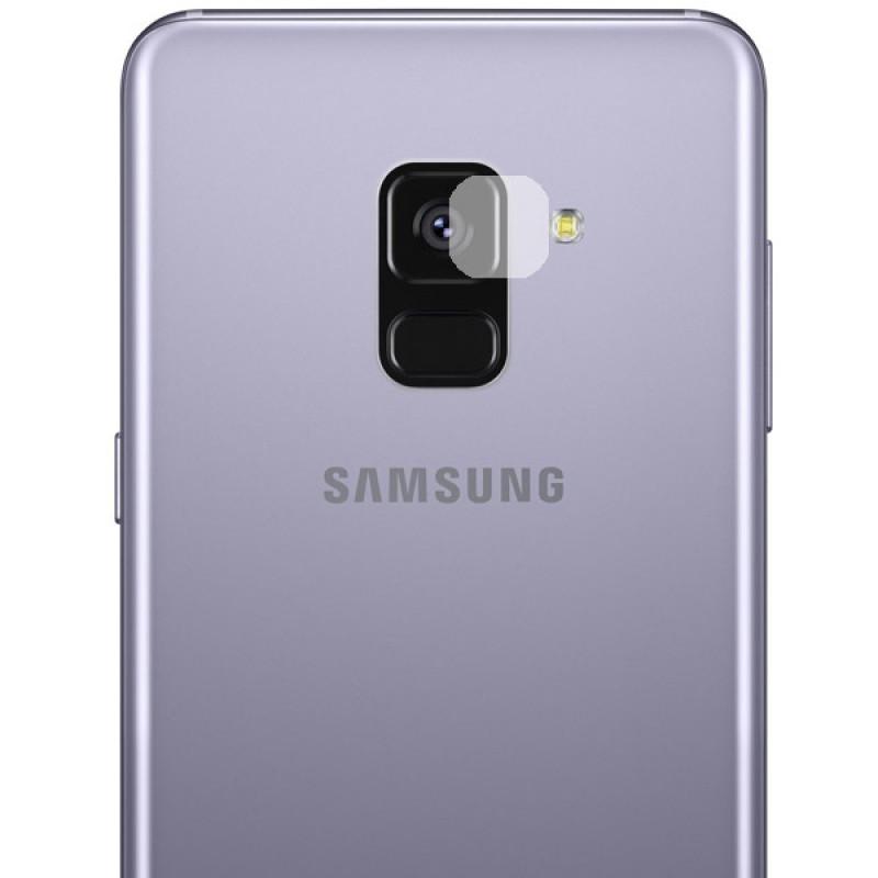 Folie sticla camera Samsung Galaxy A8 2018 - TemperedGlass.ro