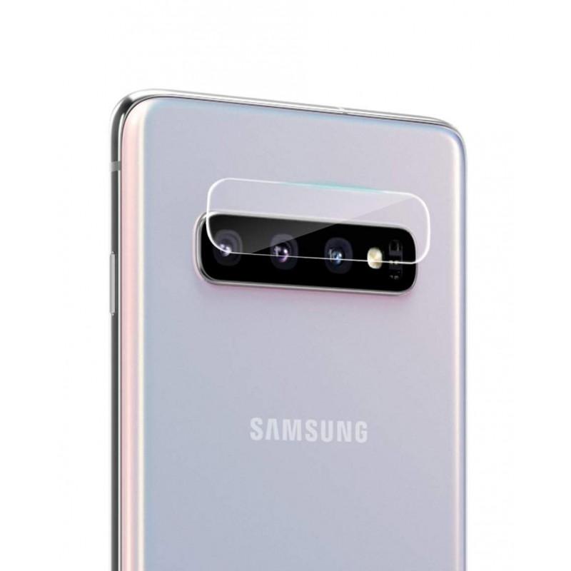 Folie sticla camera Samsung Galaxy S10 - TemperedGlass.ro