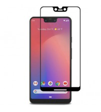 Folie sticla securizata tempered glass Google Pixel 3 XL, Black