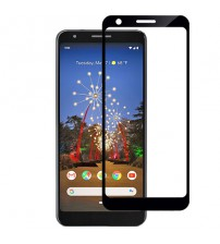 Folie sticla securizata tempered glass Google Pixel 3A, Black
