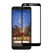 Folie sticla securizata tempered glass Google Pixel 3A XL, Black