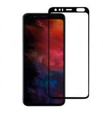 Folie sticla securizata tempered glass Google Pixel 4, Black