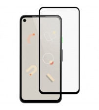 Folie sticla securizata tempered glass Google Pixel 4a, Black