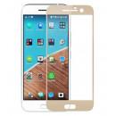 Folie sticla securizata tempered glass HTC 10 - Gold