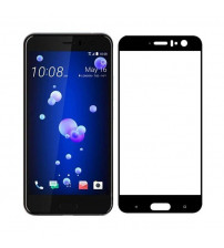 Folie sticla securizata tempered glass HTC U11, Black