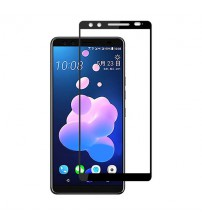 Folie sticla securizata tempered glass HTC U12 Plus, Black