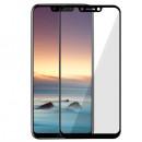 Folie sticla securizata tempered glass Huawei Honor Play 2018, Black