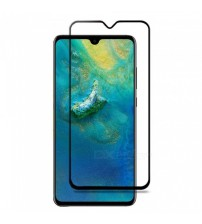 Folie sticla securizata tempered glass Huawei Mate 20 X, Full Black