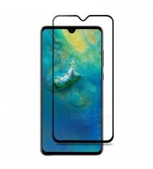 Folie sticla securizata tempered glass Huawei Mate 20 X, Full Black