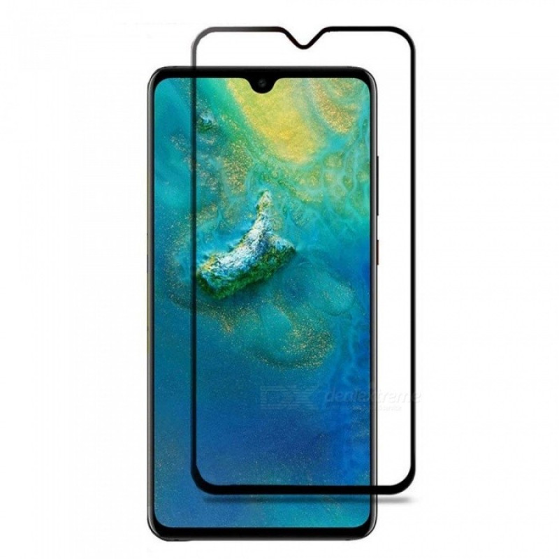 Folie sticla Huawei Mate 20 X Black, Folii Huawei - TemperedGlass.ro