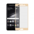 Folie sticla securizata tempered glass Huawei Mate 9 Porsche Design 3D Gold