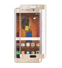 Folie sticla securizata tempered glass Huawei Mate 9 Pro 3D Gold