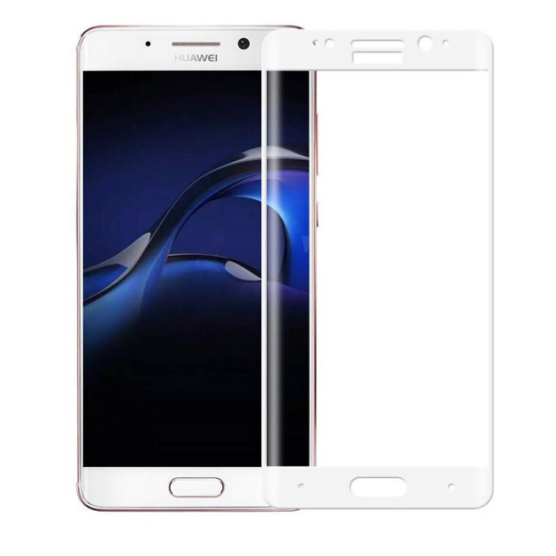 Folie sticla Huawei Mate 9 Pro, White - TemperedGlass.ro