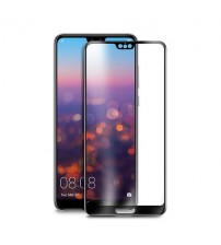 Folie sticla securizata tempered glass Huawei P20 3D Black