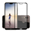 Folie sticla securizata tempered glass Huawei P20 Lite 3D Black
