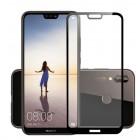 Folie sticla securizata tempered glass Huawei P20 Lite 3D Black
