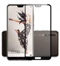 Folie sticla securizata tempered glass Huawei P20 Pro Black