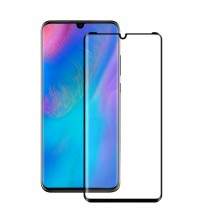 Folie sticla securizata tempered glass Huawei P30 Pro 3D Black