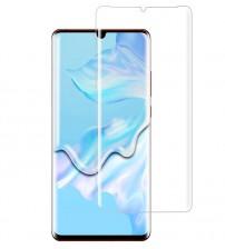 Folie sticla securizata tempered glass Huawei P30 Pro, Full Glue UV