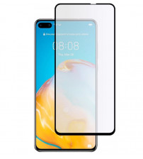 Folie sticla securizata tempered glass Huawei P40, Black