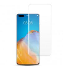 Folie sticla securizata tempered glass Huawei P40 Pro, Full Glue UV