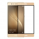 Folie sticla securizata tempered glass Huawei P9 Plus Full 3D Gold