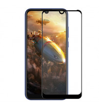 Folie sticla securizata tempered glass Huawei Y Max, Black