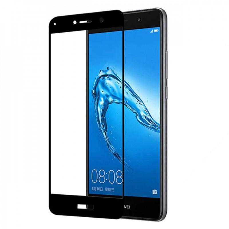 Folie sticla Huawei Y7 2017 Black, Folii Huawei - TemperedGlass.ro