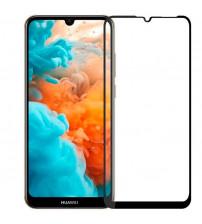 Folie sticla securizata tempered glass Huawei Y7 2019, Black