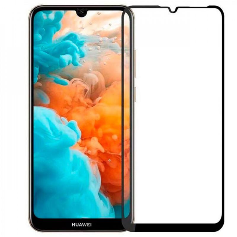 Folie sticla Huawei Y7 2019 Black, Folii Huawei - TemperedGlass.ro
