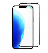 Folie sticla securizata tempered glass iPhone 13 / 13 Pro 3D Black