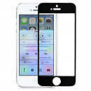 Folie sticla securizata tempered glass iPhone 5, Black aluminium