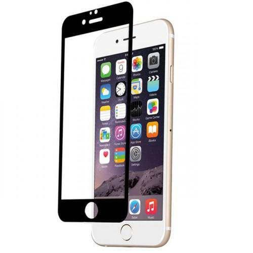 Folie sticla iPhone 6 Black, Folii iPhone - TemperedGlass.ro