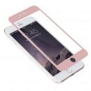 Folie sticla securizata tempered glass iPhone 6 Full 3D - Rose Gold