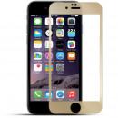 Folie sticla securizata tempered glass iPhone 6 - Gold