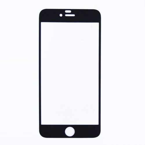 Folie sticla iPhone 6 Negru mat, Folii iPhone - TemperedGlass.ro