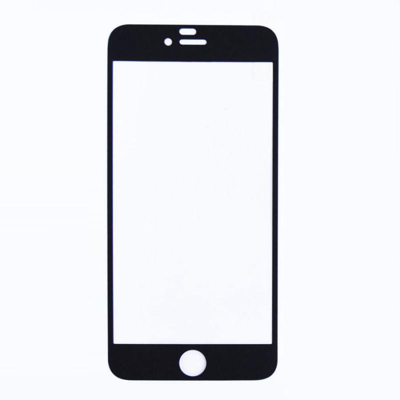 Folie sticla iPhone 6 Negru mat, Folii iPhone - TemperedGlass.ro