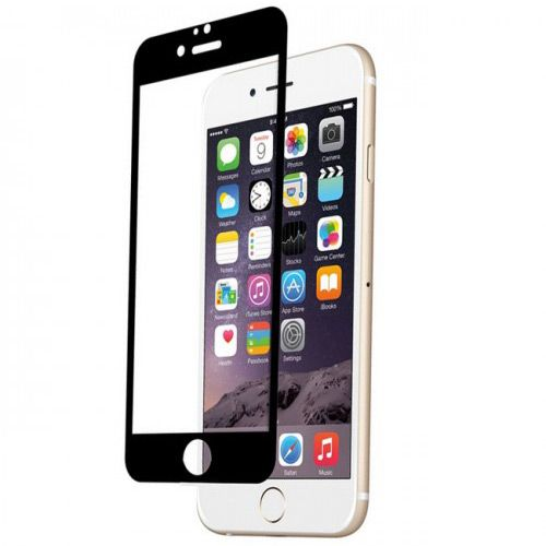 Folie sticla iPhone 6 Plus Black, Folii iPhone - TemperedGlass.ro