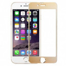 Folie sticla securizata tempered glass iPhone 6 Plus - Gold aluminium